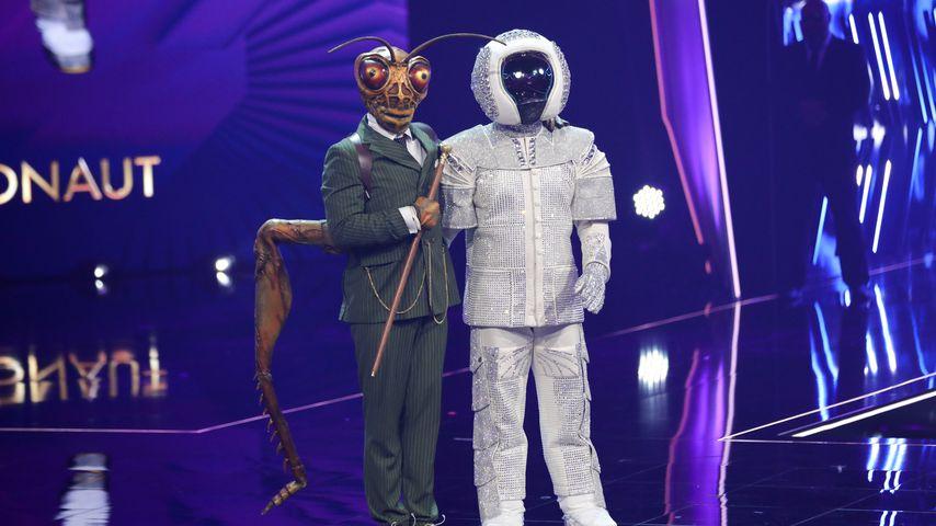 """Gil Ofarim und Max Mutzke im """"The Masked Singer""""-Finale 2019"""