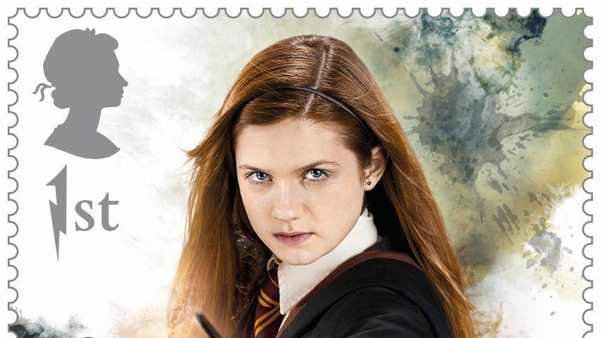 """Ginny Weasley als """"Harry Potter""""-Briefmarke"""