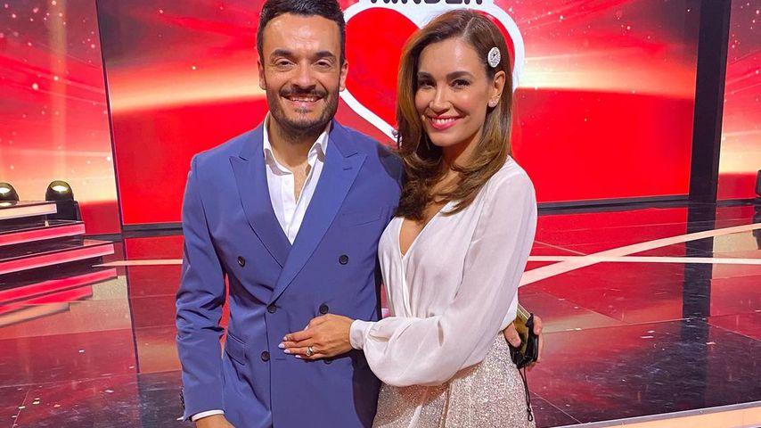 """Giovanni und Jana Ina Zarrella bei der """"Ein Herz für Kinder""""-Gala 2020"""