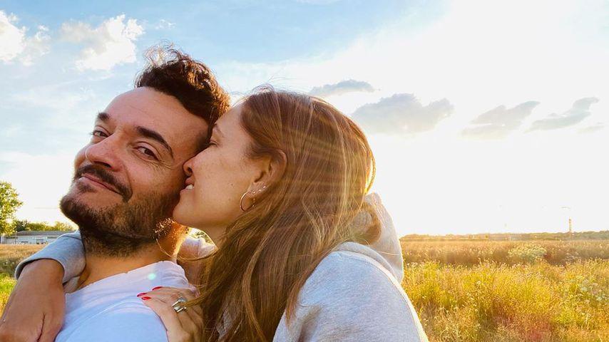 Giovanni und Jana Ina Zarrella im Juli 2020