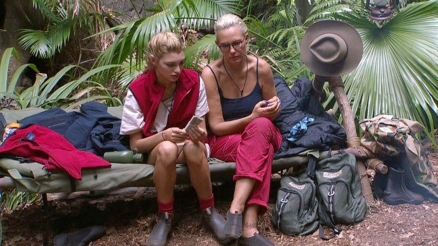 Giuliana Farfalla und Natascha Ochsenknecht im Dschungelcamp, Tag 6