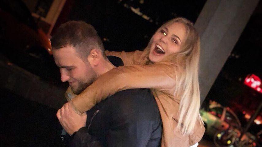 Giulio Arancio mit seiner Freundin Nicole Handwerker