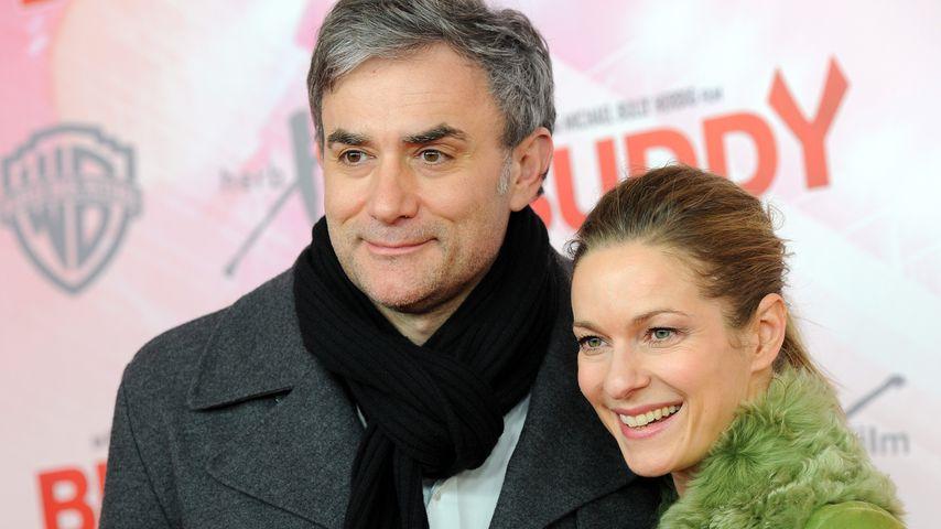 Giulio Ricciarelli und Lisa Martinek bei einer Filmpremiere im Dezember 2013