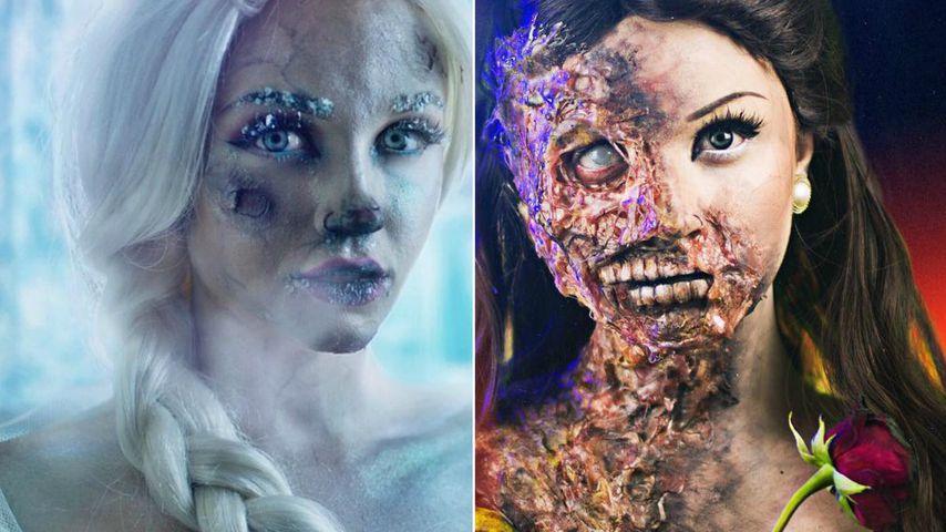 Untot & verbrannt: YouTuberin entstellt Disney-Prinzessinnen