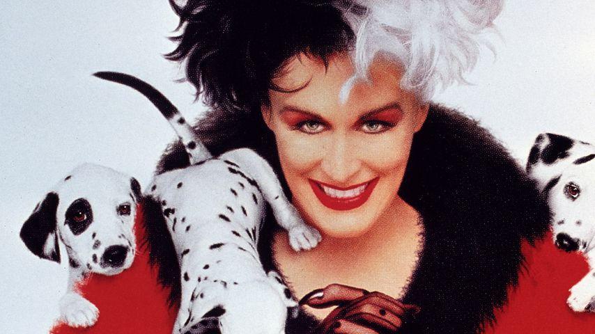 "Glenn Close als Cruella de Vil im Film ""101 Dalmatiner"""