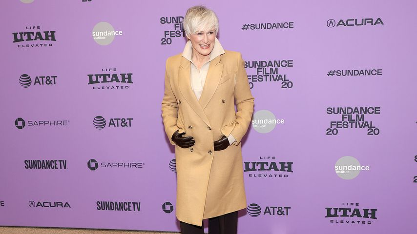 "Glenn Close bei der ""Four Good Days""-Premiere im Januar 2020 in Park City"