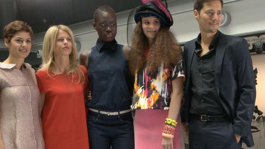 Betty Taube, Miriam Lahnstein, Aminata Sanogo, Jens Hartwig und Tatjana Kästel