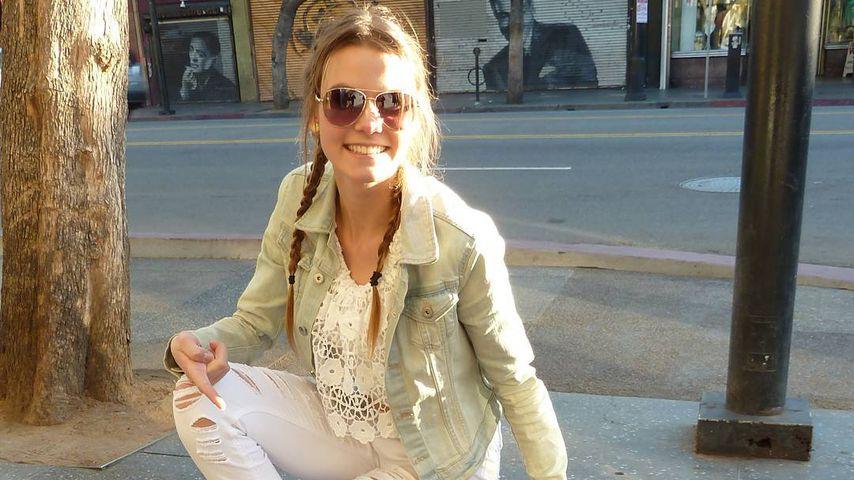 """""""Germany's next Topmodel""""-Kandidatin Lynn Petertonkoker in Los Angeles"""