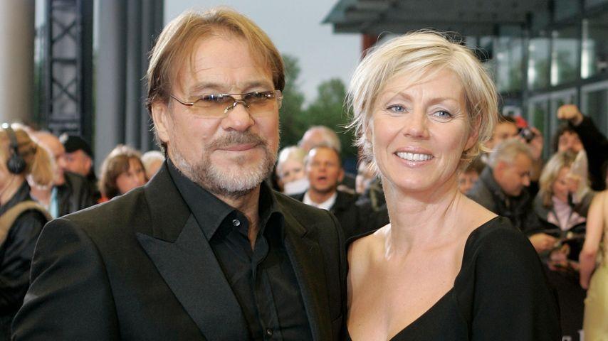 Götz George mit seiner Ehefrau Marika Ullrich beim Deutschen Fernsehpreis 2007