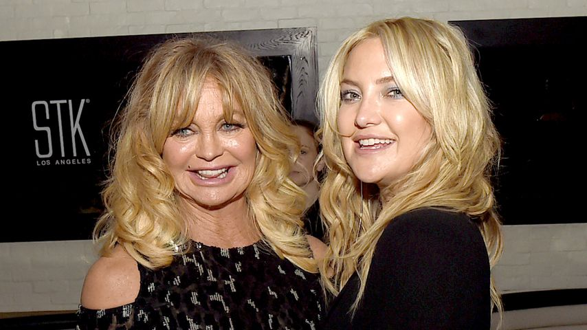 """Goldie Hawn mit ihrer Tochter Kate Hudson bei der Premiere von """"Snatched"""""""