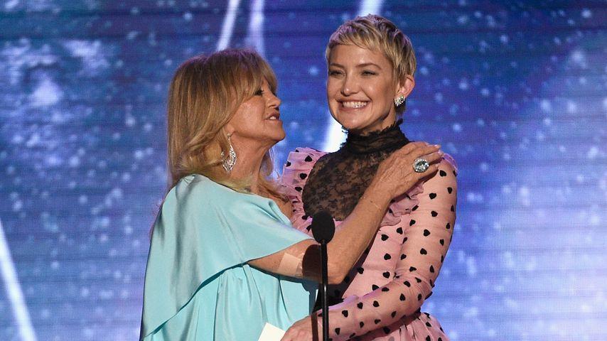 Goldie Hawn und Kate Hudson auf einer Preisverleihung im Januar 2018