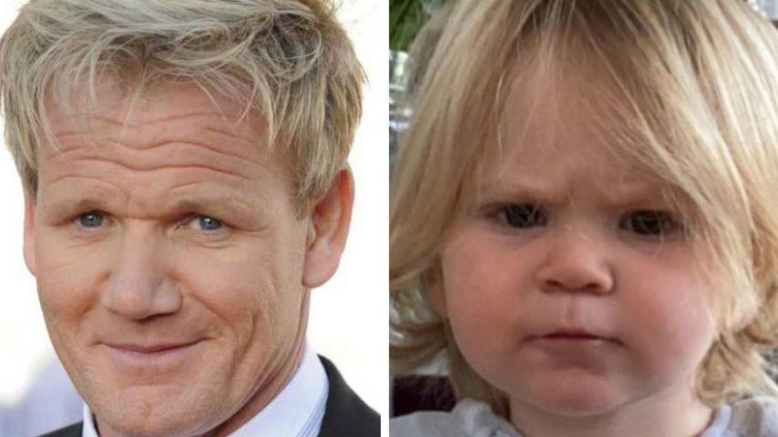 Gordon Ramsays Sohn schaut schon so grimmig wie sein Vater