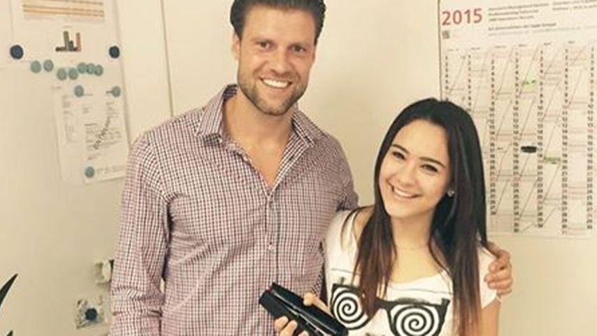 DSDS-Viviana macht Praktikum bei Bachelorette-Gordon