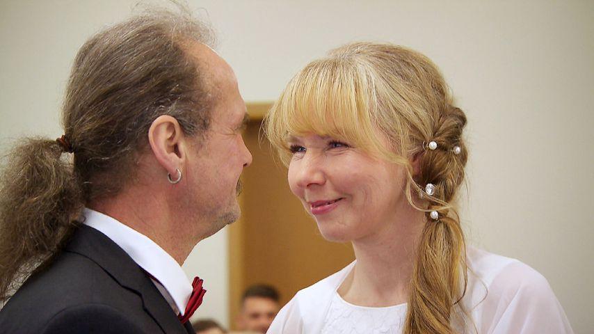 """Gottfried und Martina, """"Bauer sucht Frau""""-Stars bei ihrer Hochzeit 2018"""