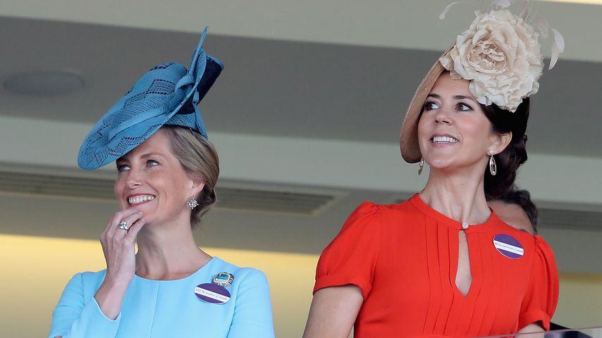 Gräfin Sophie von Wessex und Prinzessin Mary von Dänemark beim Royal Ascot 2016