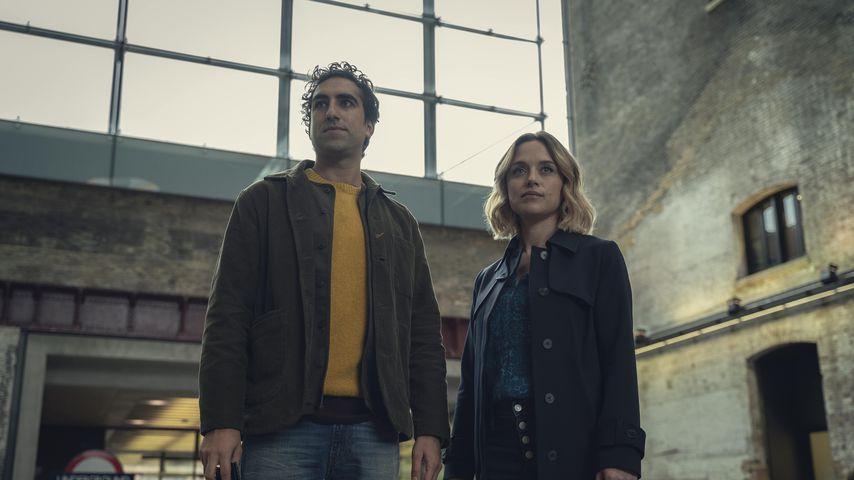 """Gregg Chillin und Zöe Tapper in der Netflix-Serie """"The One"""""""