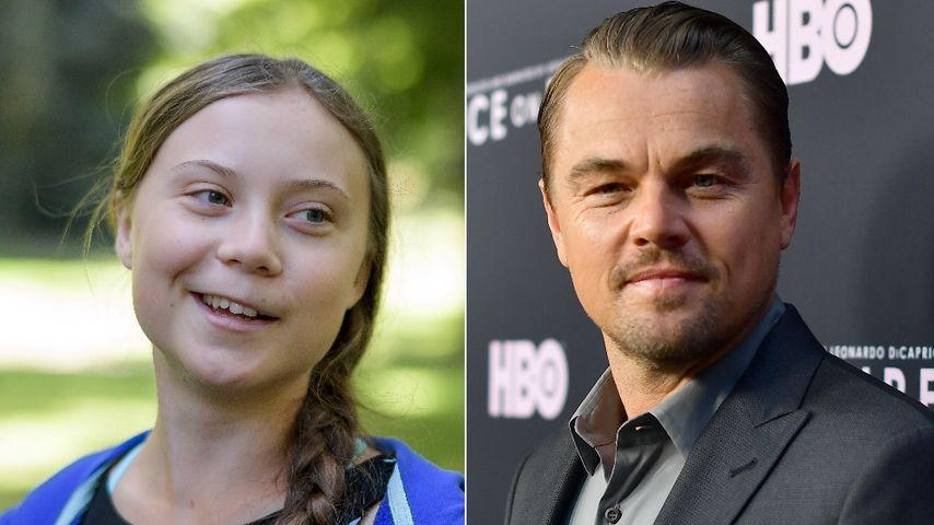 Fangirl-Moment: Greta Thunberg trifft auf Leonardo DiCaprio!