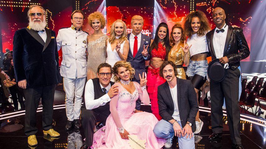 """Die Teilnehmer der TV-Show """"Deutschland tanzt"""""""