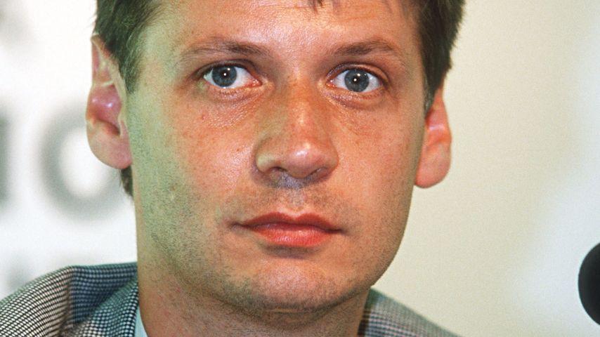 """Günther Jauch bei der """"Champions League"""" 1994"""