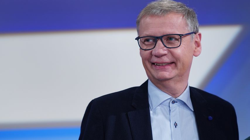 Moderator Günther Jauch