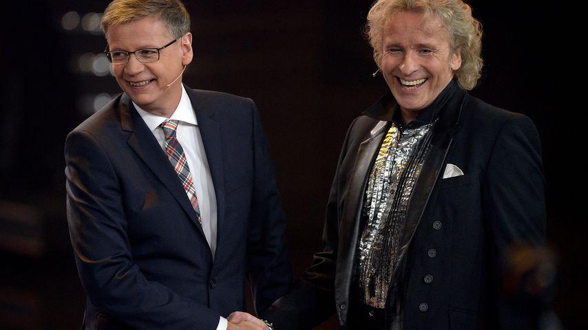 Günther Jauch und Thomas Gottschalk