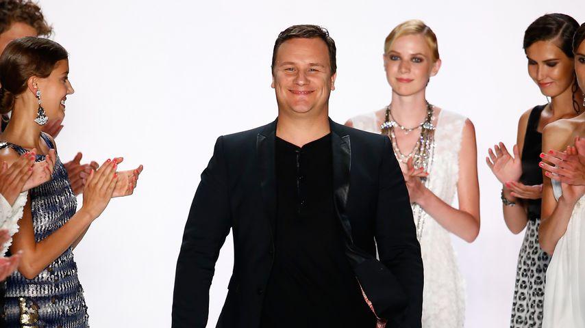 Guido Maria Kretschmer nach einer Fashion-Show