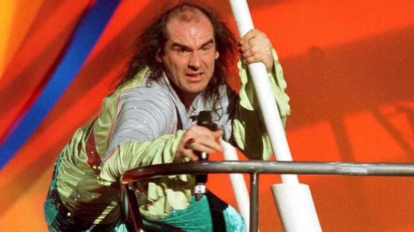 Guildo Horn bei der Probe zum Eurovision Song Contest, 1998