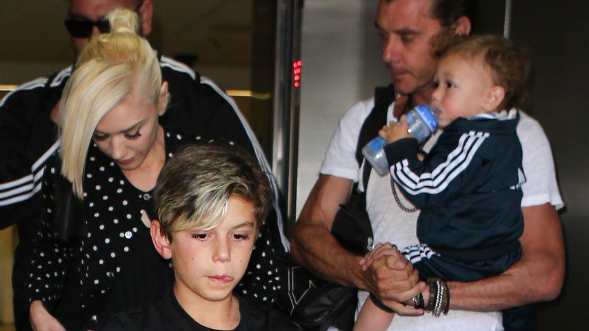Gwen Stefani, Gavin Rossdale, Apollo Bowie Flynn Rossdale und Zuma Rossdale