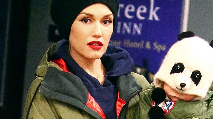 Bärenstark! Gwen Stefani hat einen Mini-Cro im Arm