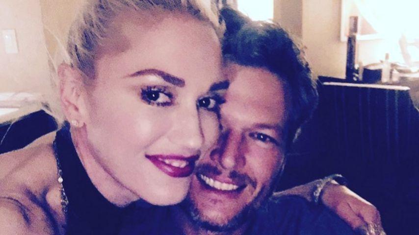 Foto-Wahn: Gwen Stefani bombardiert Netz mit Blake Shelton