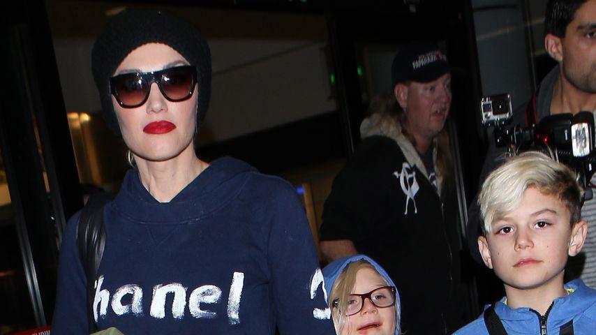 Ausgefahren: Gwen Stefani & Familie zurück in L.A.