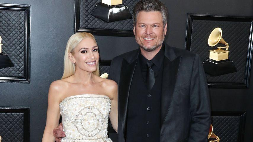 Gwen Stefani und Blake Shelton im Januar 2020
