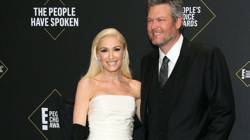 Gwen Stefani und Blake Shelton im November 2019