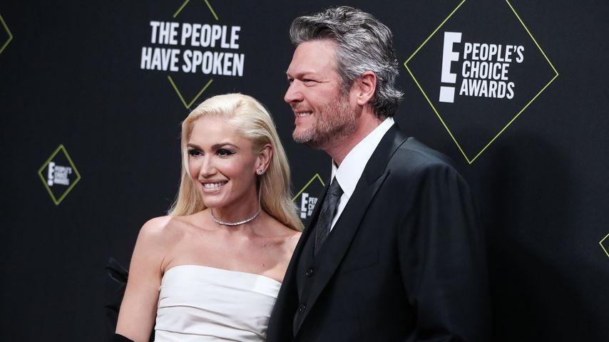 Gwen Stefani und Blake Shelton bei den People's Choice Awards 2019