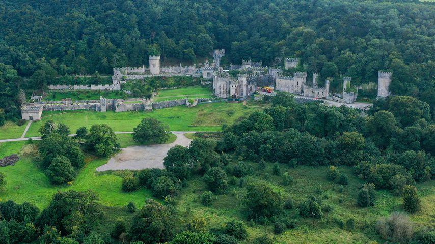 Gwyrch Castle, Schauplatz der diesjährigen Staffel des UK-Dschungelcamps