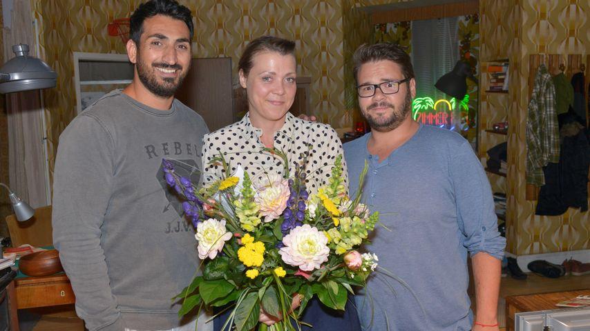 Ramona Dempsey, Thomas Drechsel und Mustafa Alin