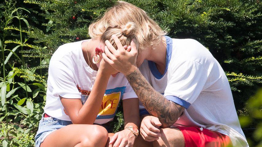 Tränen wegen Schwanger-News? Hailey & Justin total bestürzt!