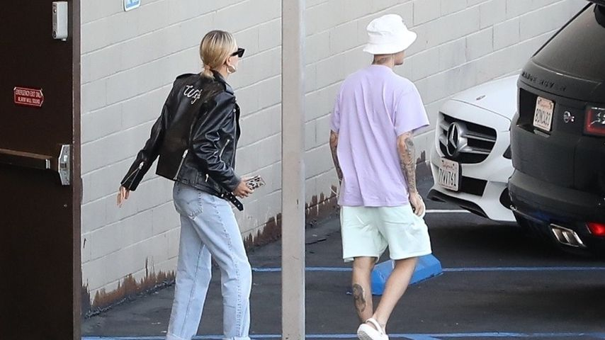 Hailey und Justin Bieber im Oktober 2019
