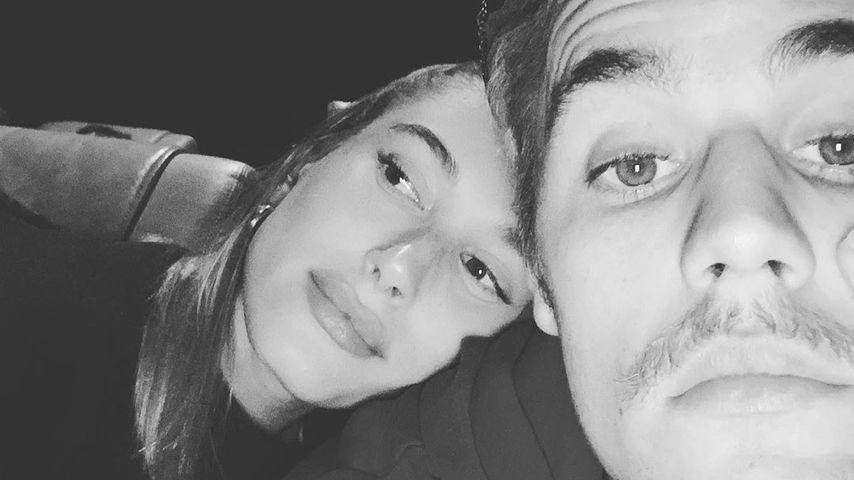 Hailey und Justin Bieber im Januar 2020