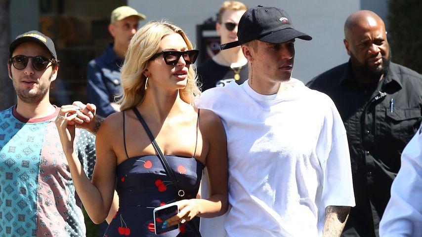 Hailey und Justin Bieber 2019 in Hollywood
