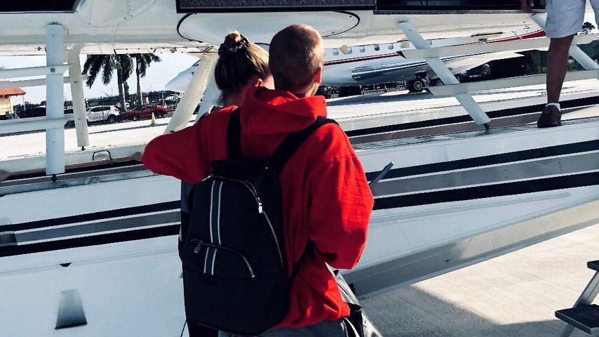 Hailey und Justin Bieber im November 2018