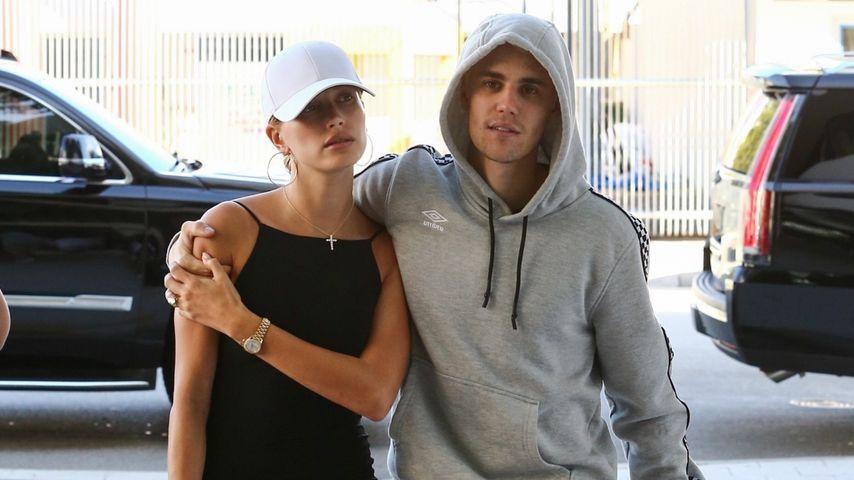 Hailey und Justin Bieber in Miami im November 2019