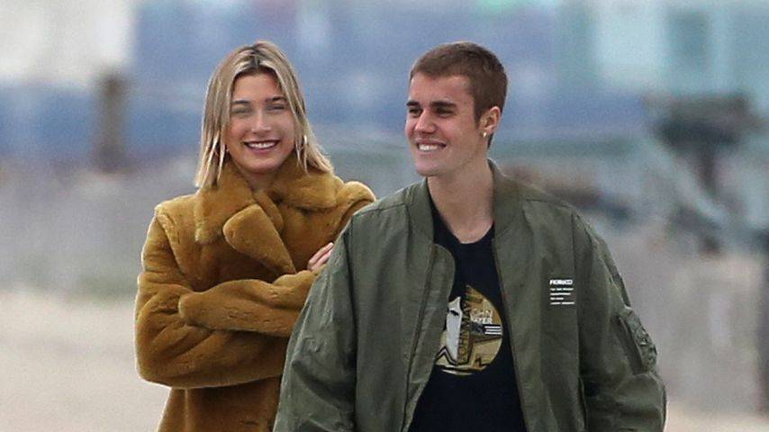 Hailey und Justin Bieber in Los Angeles, Januar 2019