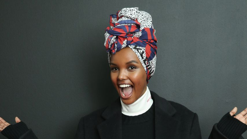 Halima Aden, September 2018