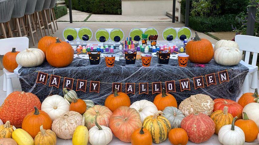 Halloween-Party bei Khloé Kardashian im Oktober 2020