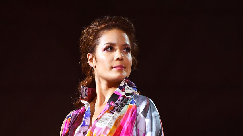 Sängerin Halsey, November 2019