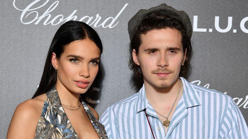 Hana Cross und Brooklyn Beckham im Mai 2019 im Hotel Martinez in Cannes