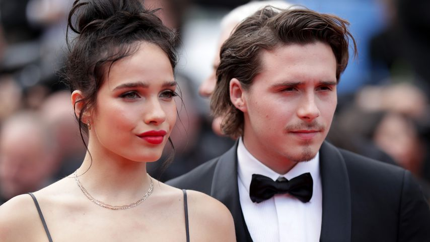 Hana Cross und Brooklyn Beckham in Cannes 2019