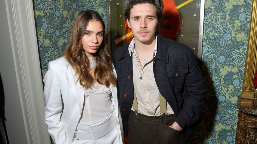 Hana Cross und Brooklyn Beckham im Februar 2019