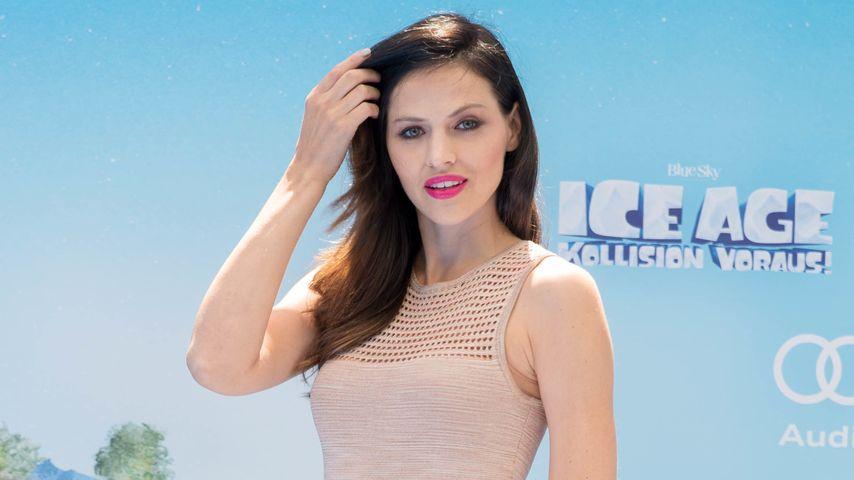 """Hana Nitsche bei der """"Ice Age - Kollison Voraus""""-Premiere in Berlin"""